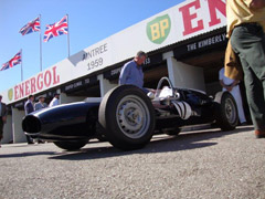 Cooper Car Company tribute at Goodwood Revival 2019